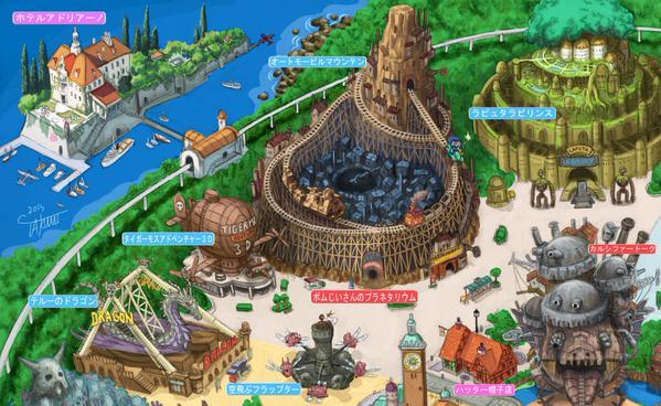 tokyo ghibli land