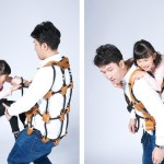 wearable jungle gym by Atsushi Shiraishi