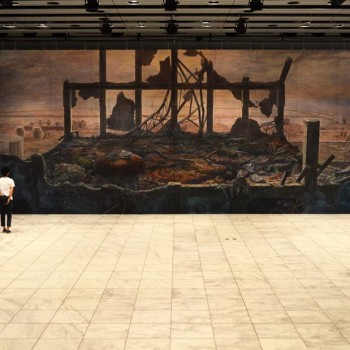 Remembering Tohoku: Gigantic Watercolor Canvases by Hiroshige Kagawa