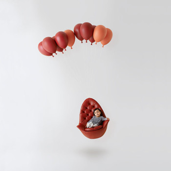 A Kids Chair Inspired by the 1956 Film 'The Red Balloon'