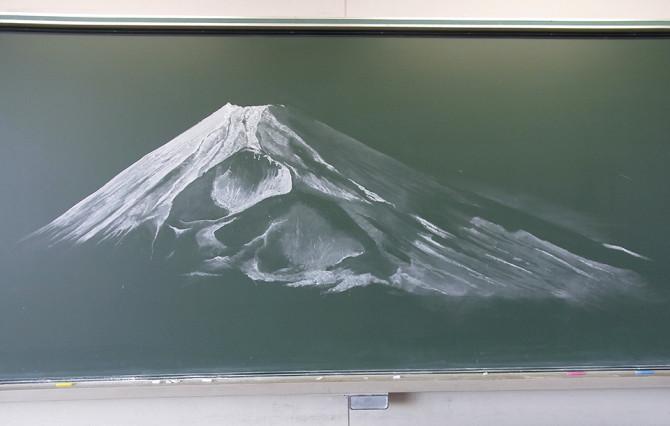 nichigaku chalkboard art