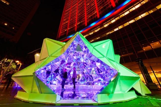 Light Origami by Masakazu Shirane