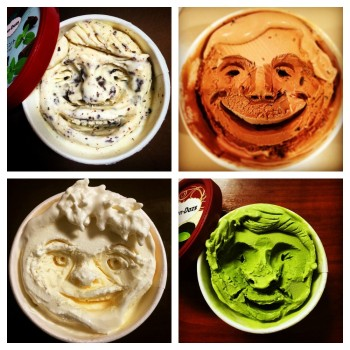 Makoto Asano Carves Smiley Faces Into Häagen-Dazs Ice Cream Cups