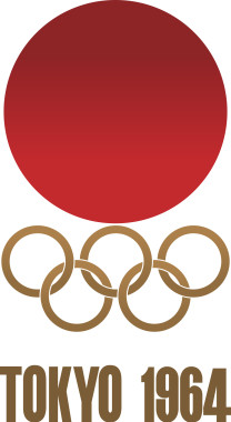 Tokyo 1964 Olympic Emblem