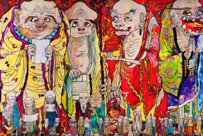 takashi murakami at mori art museum