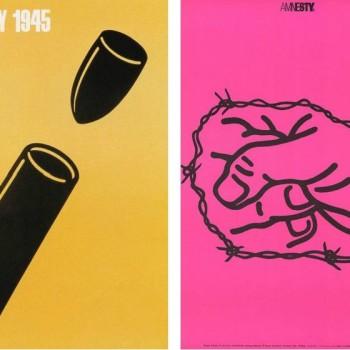 Antiwar Posters by Graphic Designer Shigeo Fukuda