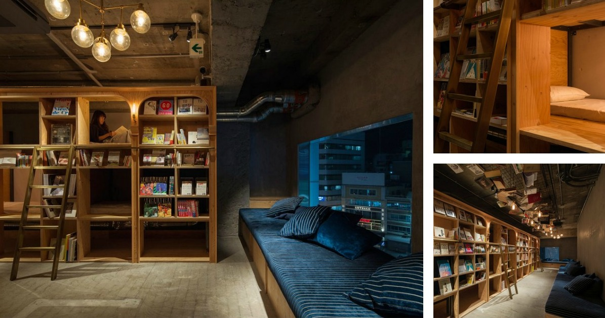 Sweet Dreams for Bibliophiles: Tokyo Is Getting a Bookshop Hotel