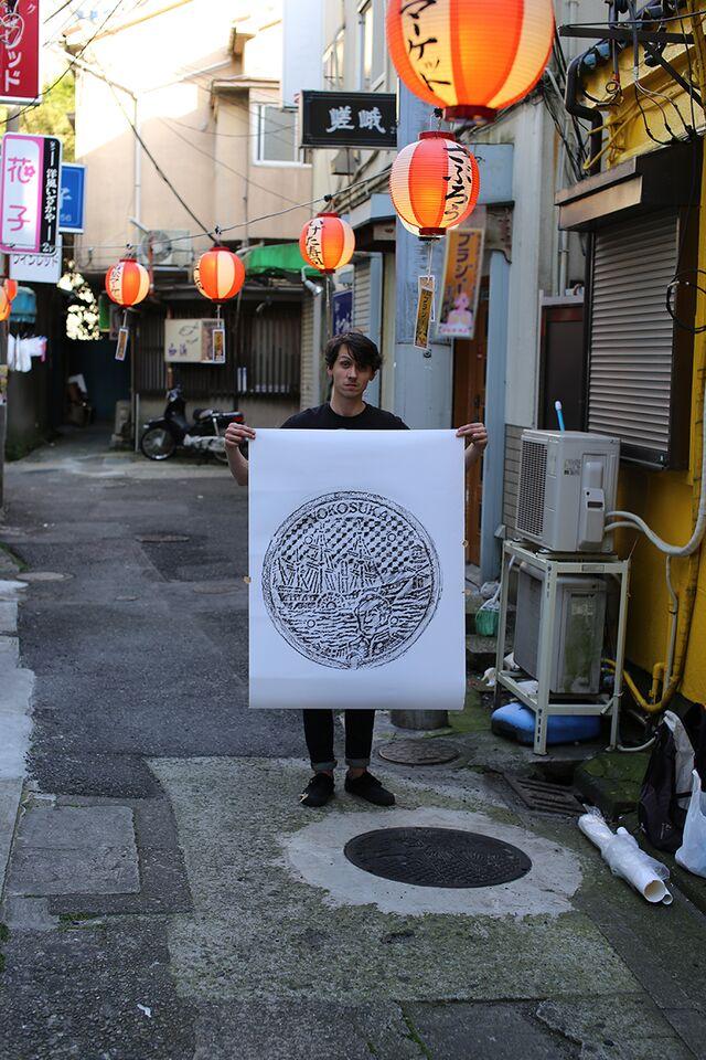 manhole cover art tracings by david robert (4)