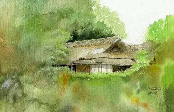 Delicate Watercolor Scenes of Japan by Masato Watanabe | Spoon ...