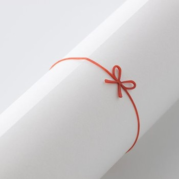 Mizuhikiband: the art of Japanese packaging incorporated into a rubber band