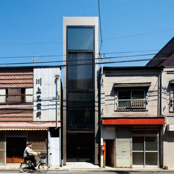 Tokyo's Ultra Narrow Home by YUUA is Just 6 Feet Wide