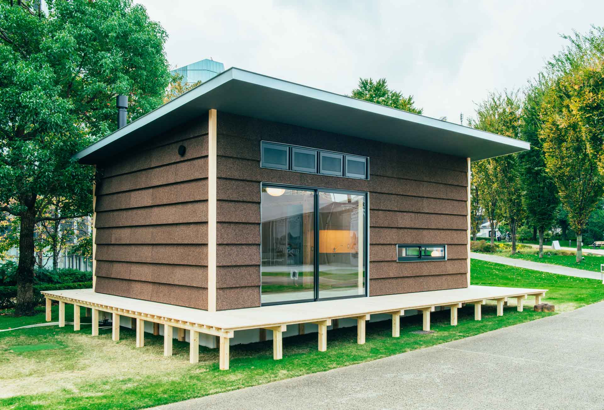 Simple living muji will begin selling huts for just for Garden hut sale