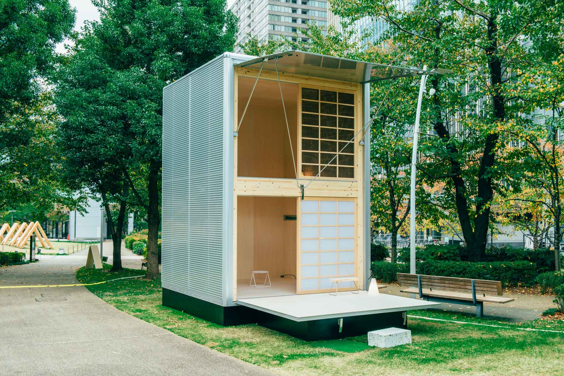 Simple living muji will begin selling huts for just for Building a little house