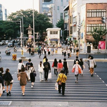 Less may be enough: Tokyo's Aoyama Dori in a Rare State of Transition