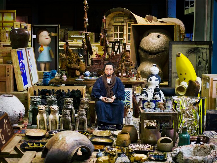 takashi murakami to put his private art collection on display spoon tamago. Black Bedroom Furniture Sets. Home Design Ideas