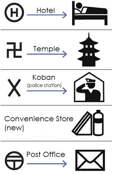 Japan New Pictograms