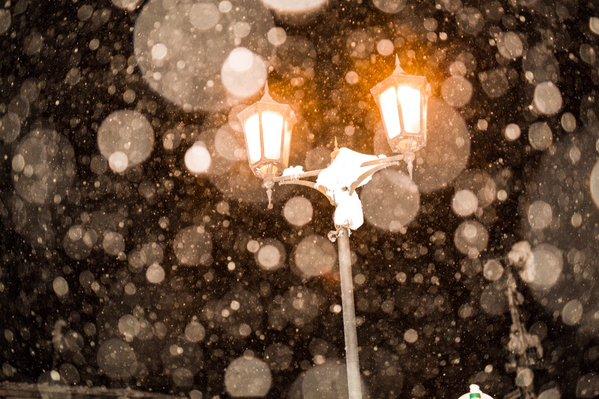 ginzan onsen snow 4