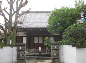 tsunyuji temple (before)