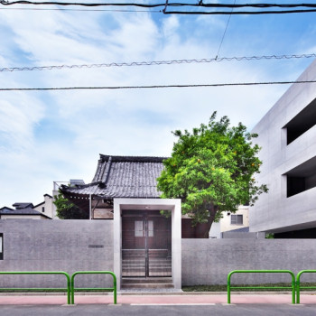 Edo Period Tsunyuji Temple in Tokyo Renovated in Minimalist Concrete