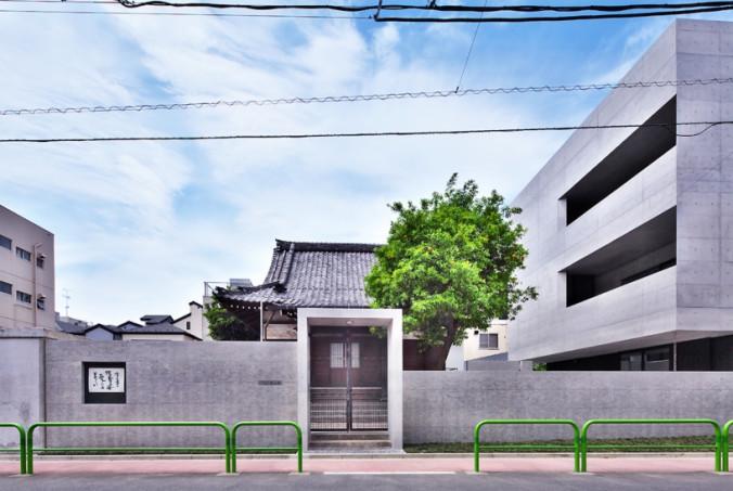 tsunyuji temple by Satoru Hirota Architects (1)