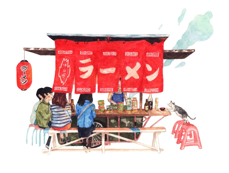 justine wong Ramen+Stall