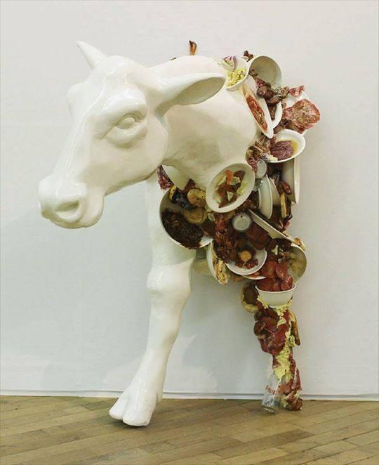 Ayako Fudamoto food sample art 1
