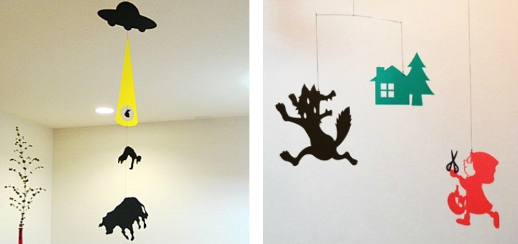 Whimsical Paper Mobiles By Japanese Artist Iro Ken Spoon
