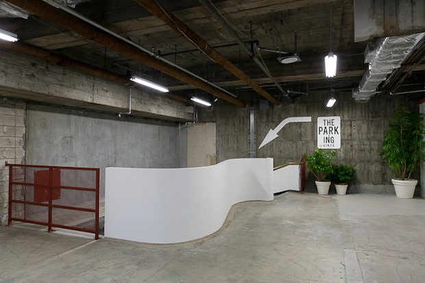 you won t find any parking in the new park ing photos courtesy