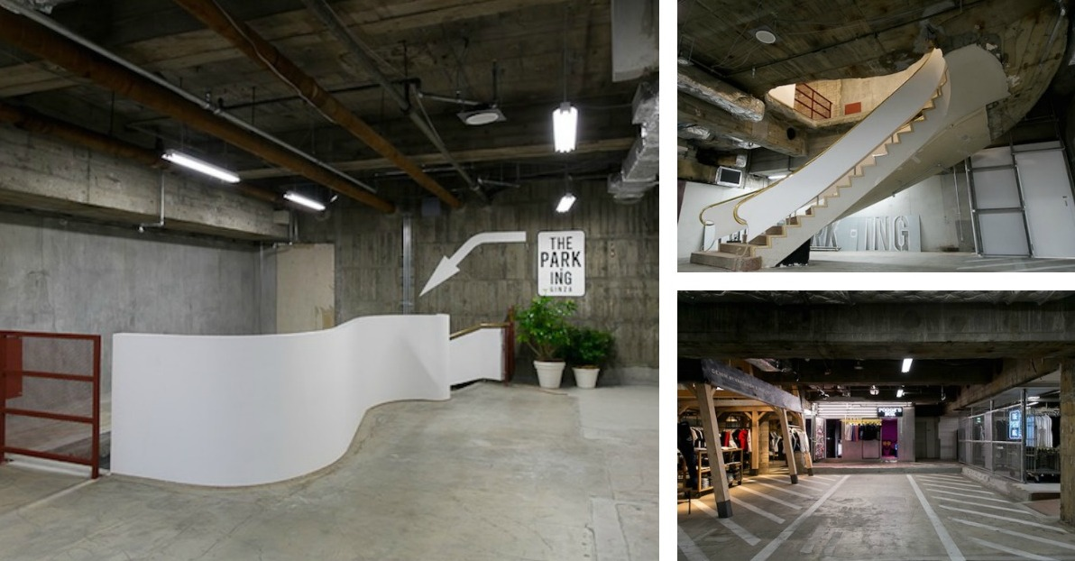 Tokyo's Hippest New Select Shop Is A Basement Parking