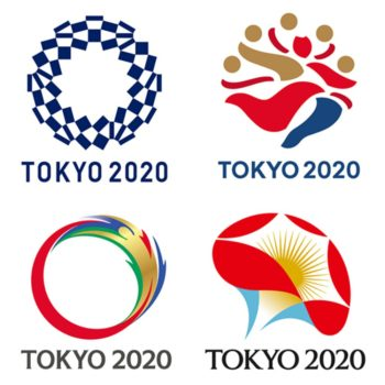 Four Shortlisted Designs Revealed for the Tokyo 2020 Olympics Logo