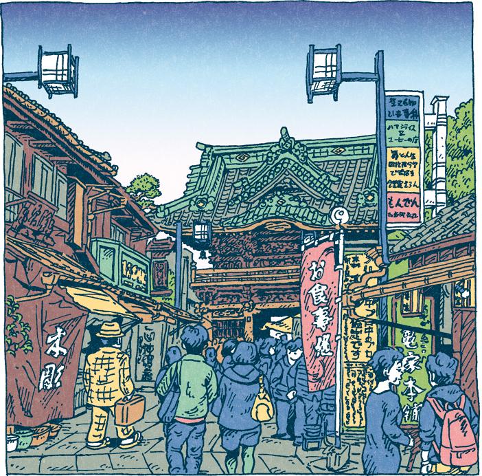 100 views of Tokyo by Shinji Tsuchimochi (1)