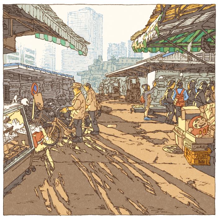 100 views of Tokyo by Shinji Tsuchimochi (11)