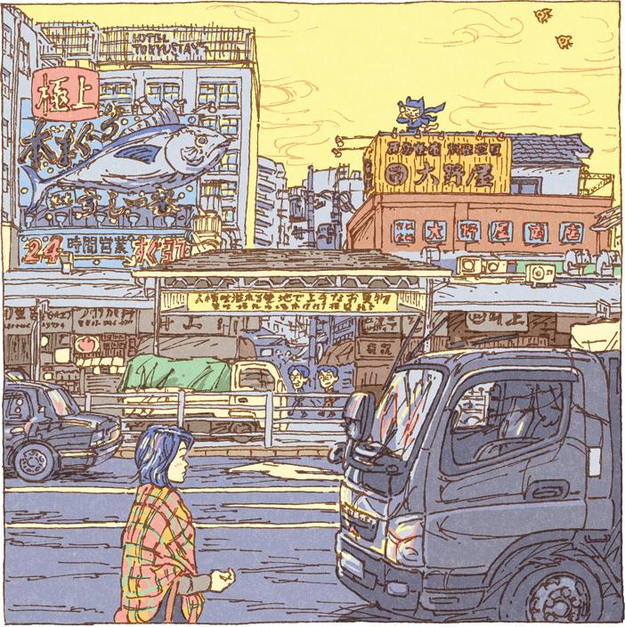 100 views of Tokyo by Shinji Tsuchimochi (12)