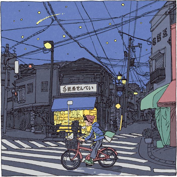 100 views of Tokyo by Shinji Tsuchimochi (16)