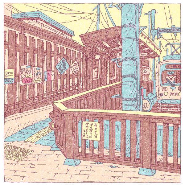 100 views of Tokyo by Shinji Tsuchimochi (18)