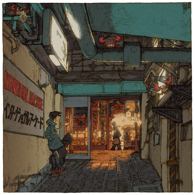 100 views of Tokyo by Shinji Tsuchimochi (4)