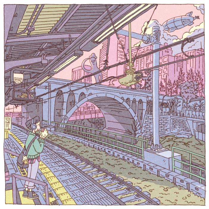 100 views of Tokyo by Shinji Tsuchimochi (7)