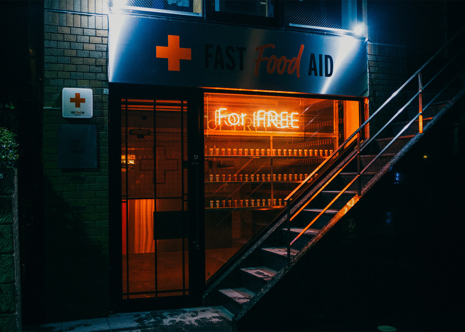 fast food aid harajuku shop
