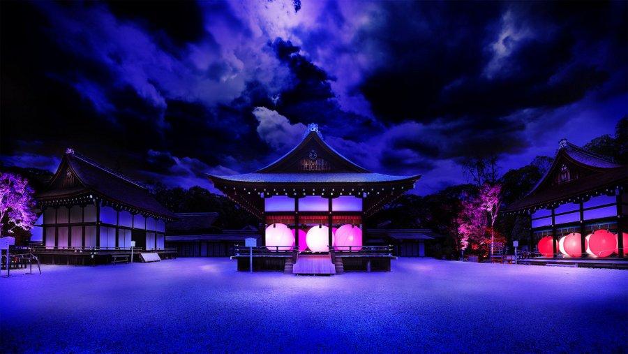 Shimogamo Shrine Light Festival (3)