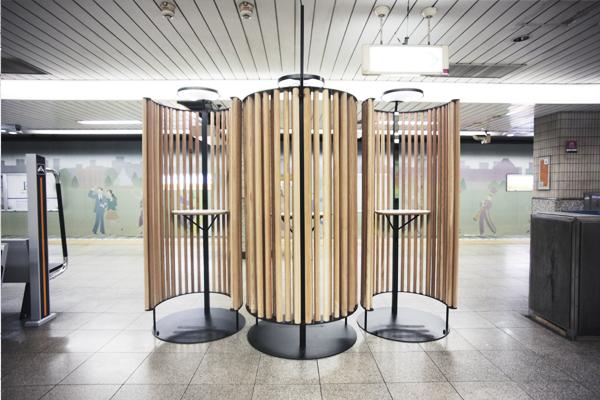 Tokyo Metro Bench Work Stations by Nikken Design Lab (3)
