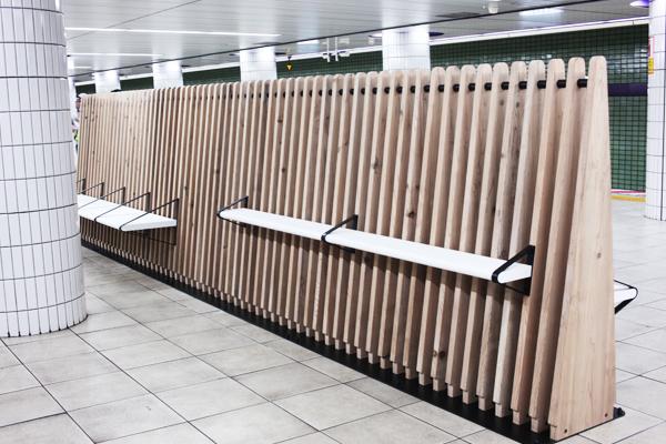 Tokyo Metro Bench Work Stations by Nikken Design Lab (6)