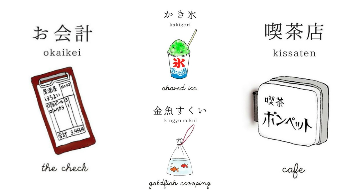 pompette nihongo flashcards (header)