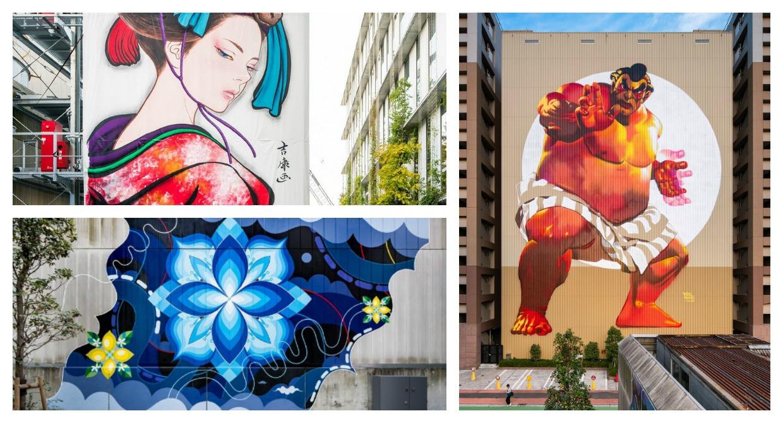 Explore the Street Art and Murals of Tokyo's Tennozu Isle