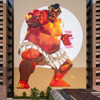 Explore the Street Art and Murals of Tokyo's Tennozu Isle
