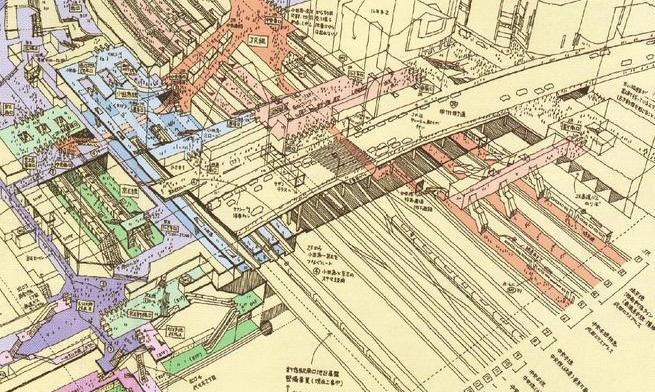 tomoyuki tanaka rendering shinjuku - (detail)