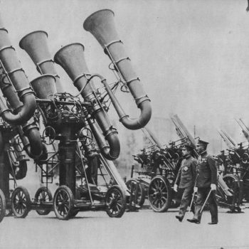 Fascinating Historic Photos of Japan's Wartime Acoustic Locators