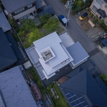 Puddle: a home in Japan designed to let the rainwater in