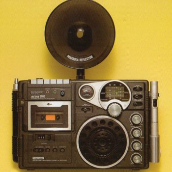 Retro Japanese Boomboxes and a Pocketbook