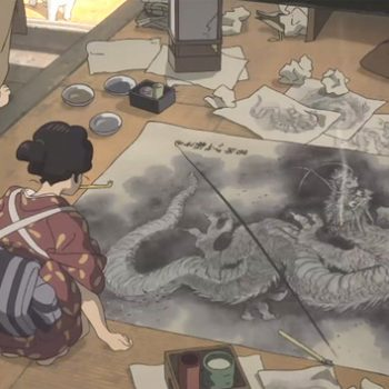 Miss Hokusai: an animated film that tells the story of an artist lost in her father's shadow