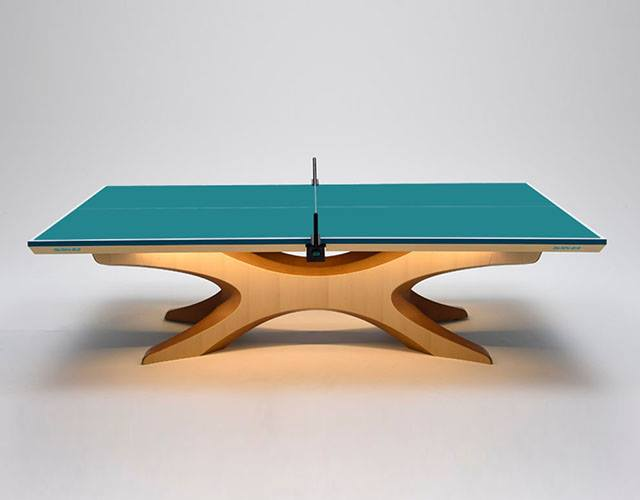 Rio 2016 Olympic Infinity Ping Pong Tables Designed By